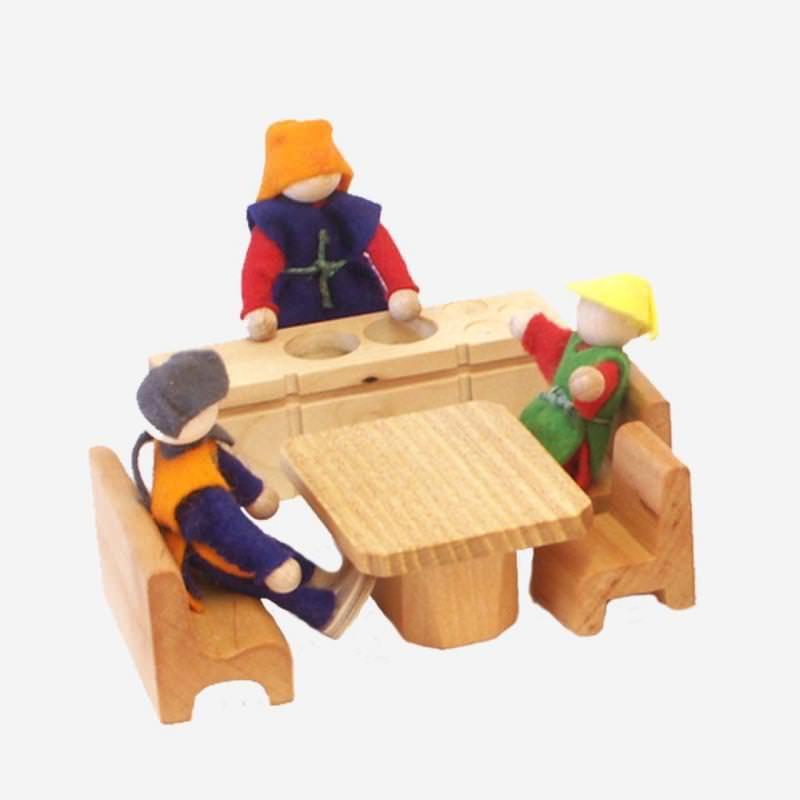 Möbelset Küche 5-teilig