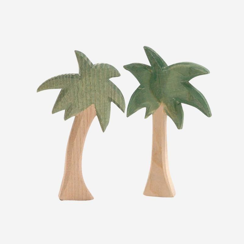 Holzfigur Palmengruppe mini von Ostheimer