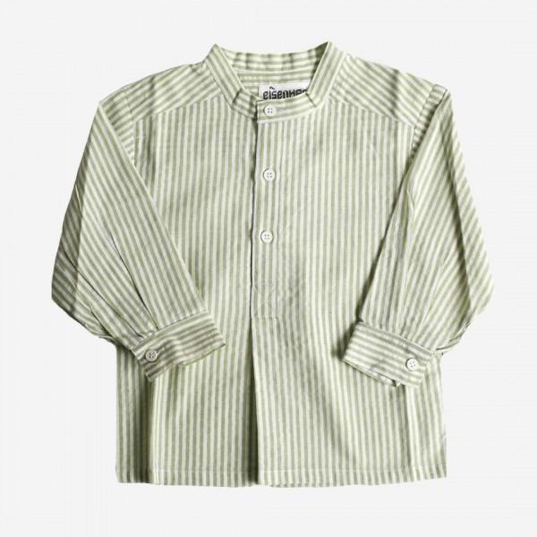 Fischerhemd grün/weiß