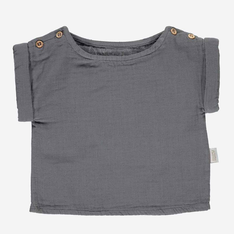 T-Shirt LIN iron gate