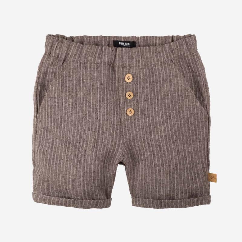 Kinder kurze Hose aus Leinen von Pure Pure in braun