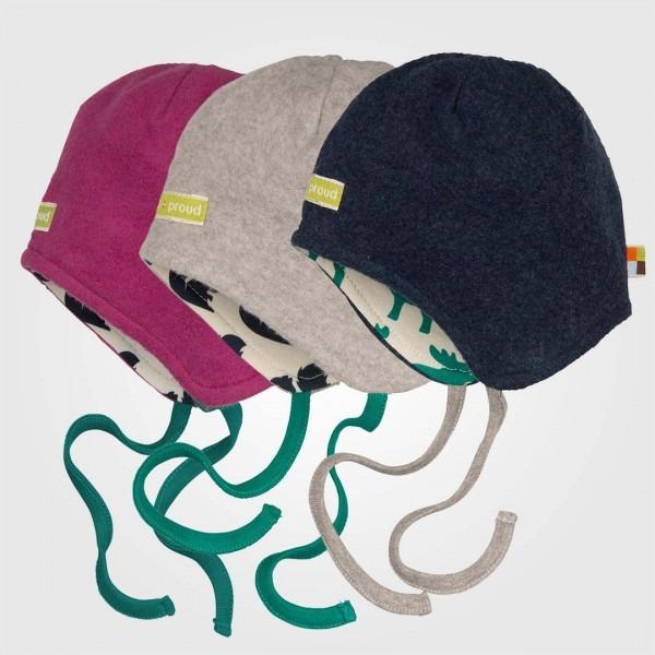 Baby Mütze Baumwoll-Fleece