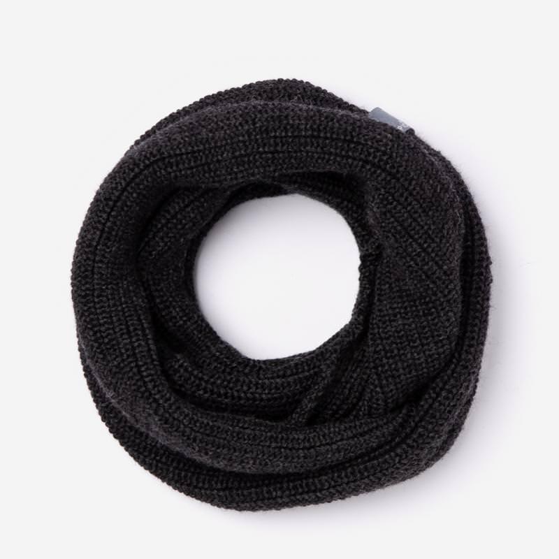 Loop Schal Hansen Wolle/Seide anthrazit