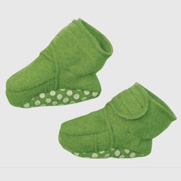 Walk-Schuhe Wolle grün