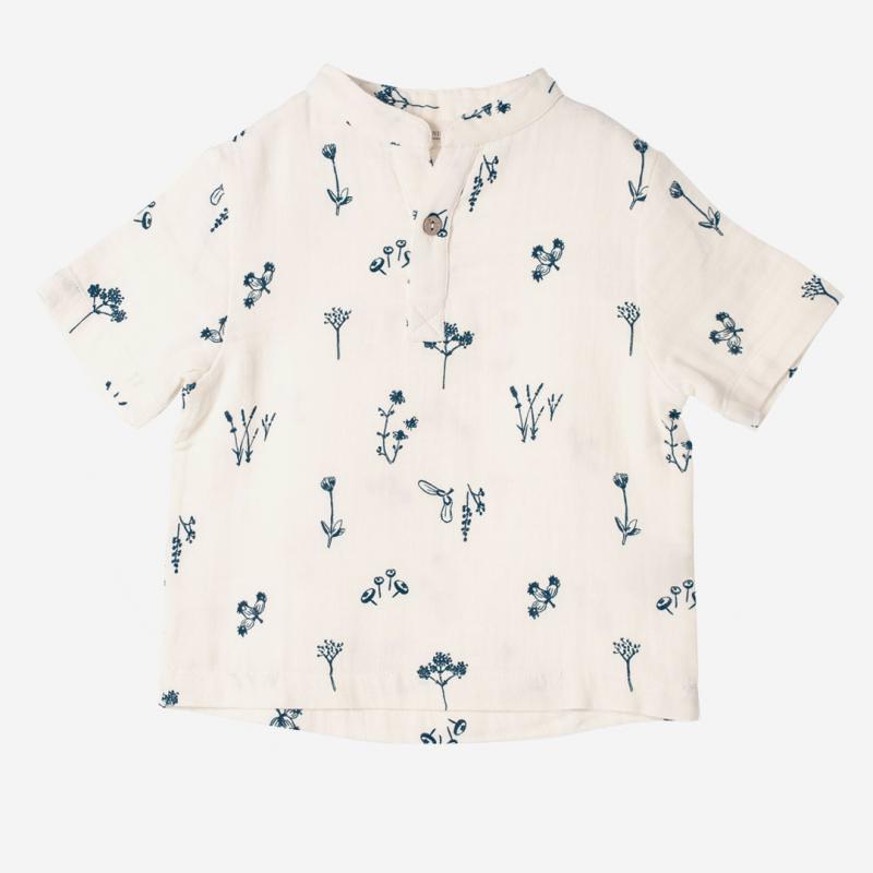 Kurzarm Shirt Pflanzen Genuss