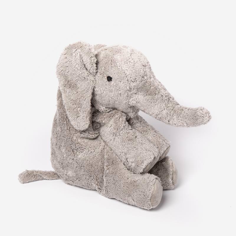 Kuscheltier Elefant grau klein