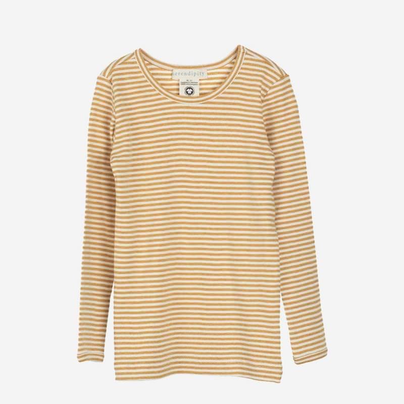 Slim Shirt honey-offwhite