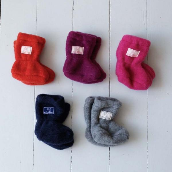 Baby-Stiefel Wollfleece