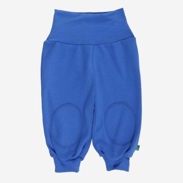 Krabbelhose blau