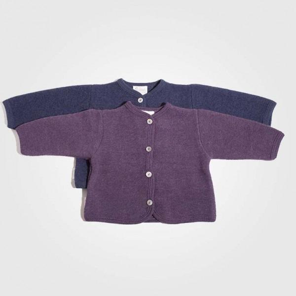 Babyjacke gerauht Wolle