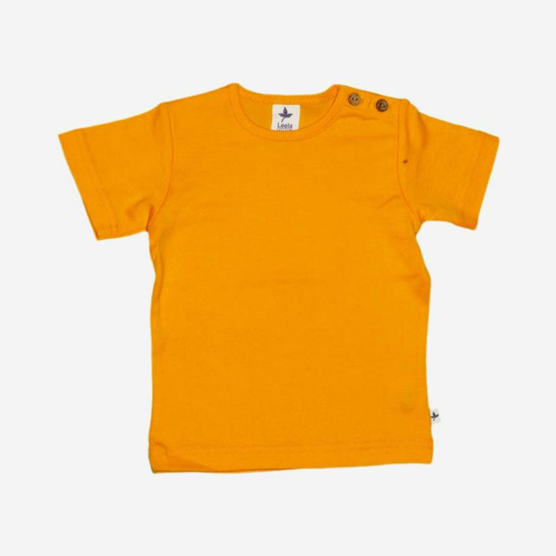 T-Shirt Baumwolle sonnengelb