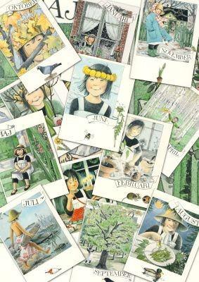 Monatskarten 12er Set Linnea