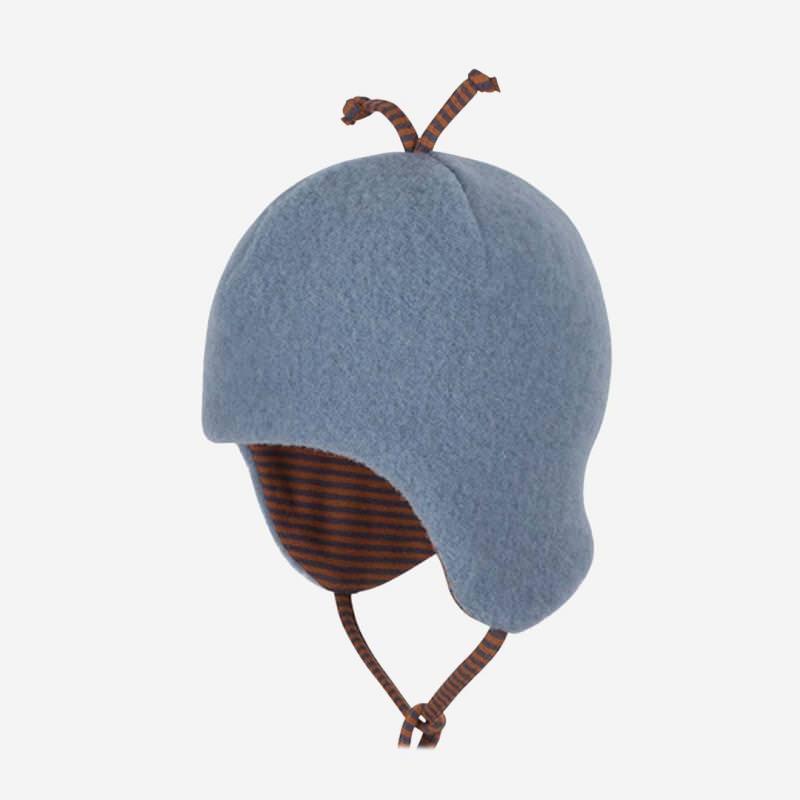 Mütze Fleece dusty blue