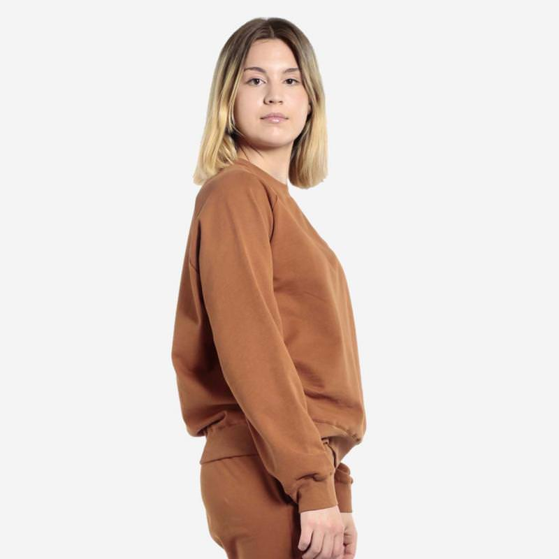 Women Cosy Sweater caramel