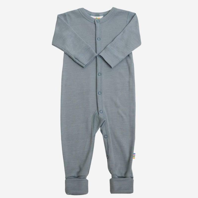 Jumpsuit Wolle/Seide denimblau