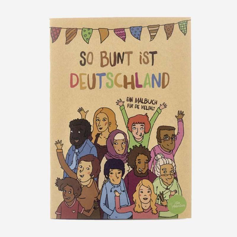 Malbuch für die Vielfalt