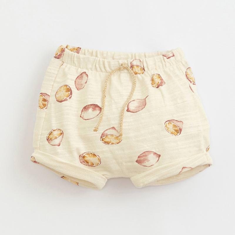Shorts mit Zitronen dandelion gelb
