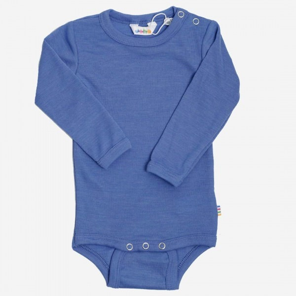 Body Wolle/Seide blau