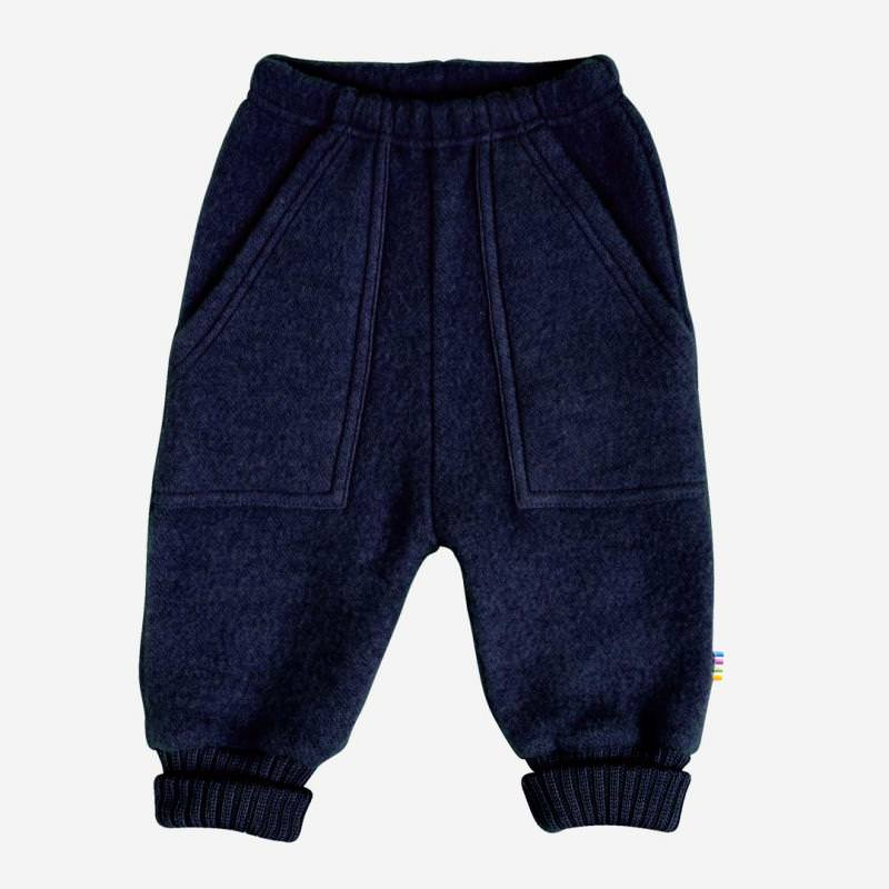 Baggy Pants Wollfleece navy melange