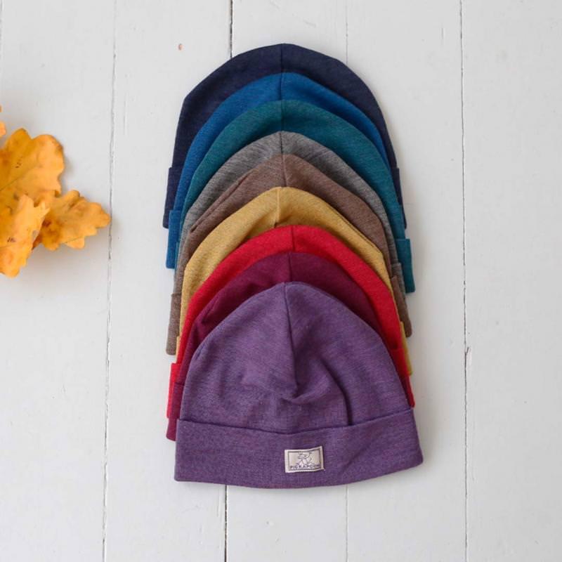 Mütze Schlupper Wolle/Seide