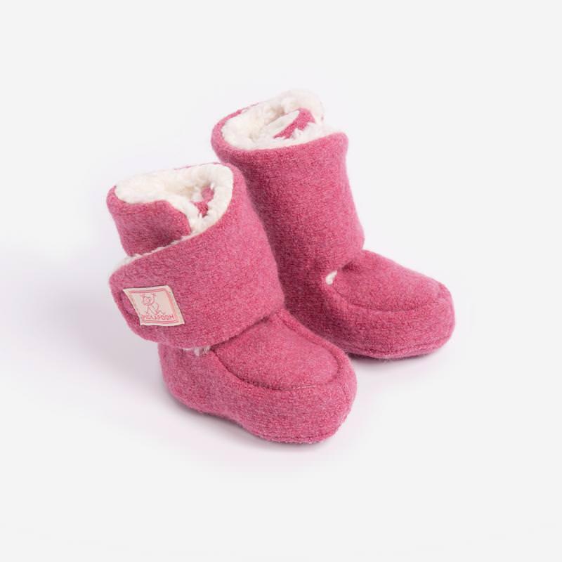 Baby-Stiefel Trotter Wollwalk wild rose