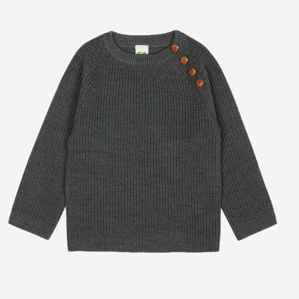 Woll Pullover grey
