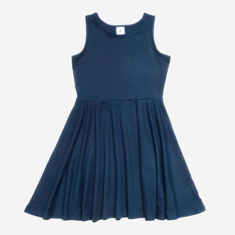 Jerseykleid indigo