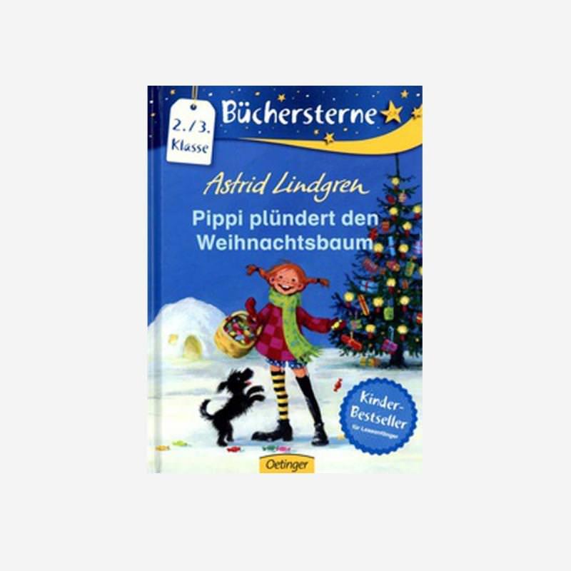 Buch Pippi plündert den Weihnachtsbaum Leseanfänger