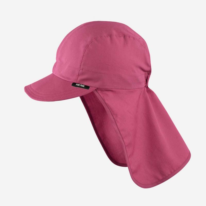 Schirmmütze mit Nackenschutz cassis