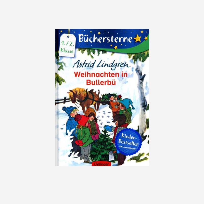 Selbstlesebuch Weihnachten in Bullerbü