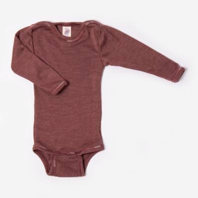 Baby Body Wolle/Seide kupfer