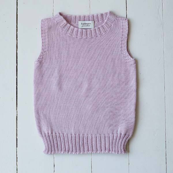 Pullunder Wolle perlrosa