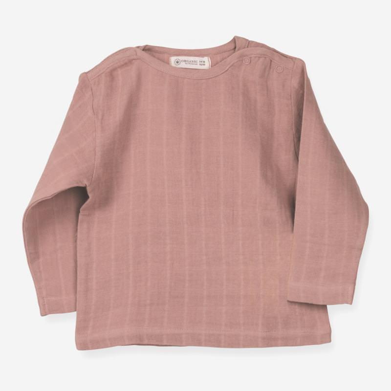 Langarm Shirt Farbenspiel sienna