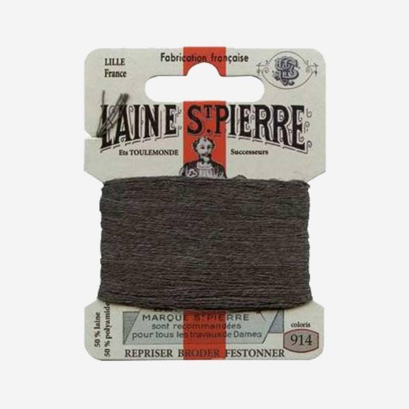 Stopfgarn von Laine Saint-Pierre in schiefer Farbnummer 914