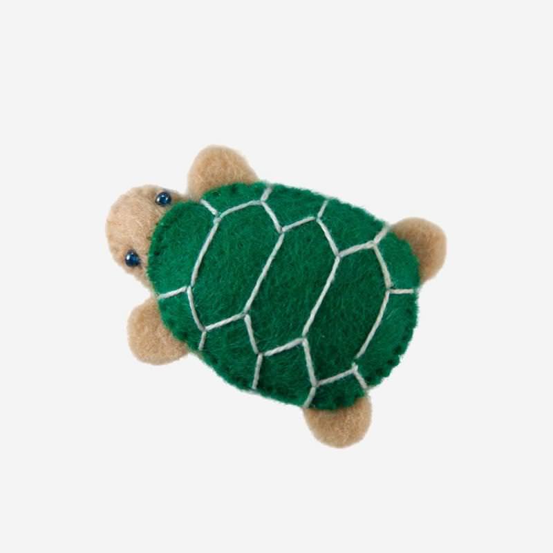 Kleine Filz Freunde Schildkröte