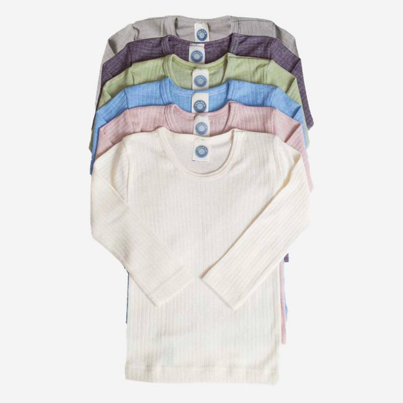 Unterhemd Baumwolle/Wolle/Seide