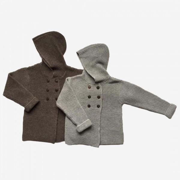 Kapuzenjacke Baumwolle/Wolle