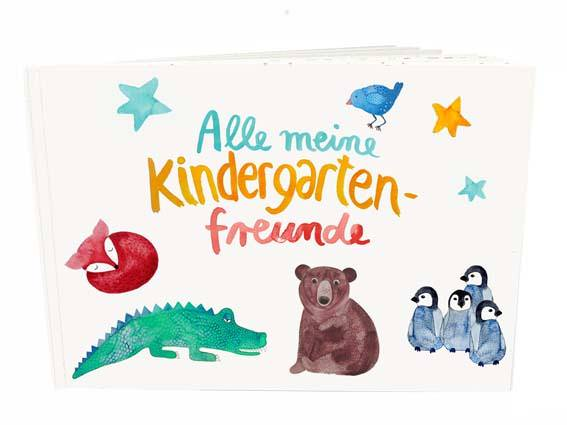 "Freundebuch *Kindergarten"""
