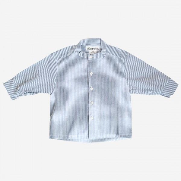 Hemd blau/weiß