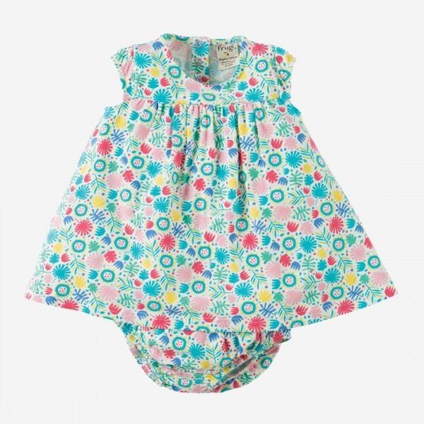 Babykleid mit Windelhöschen