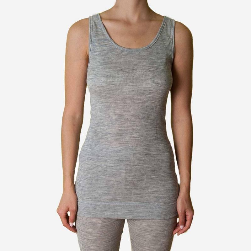 Damen Longshirt Achselhemd