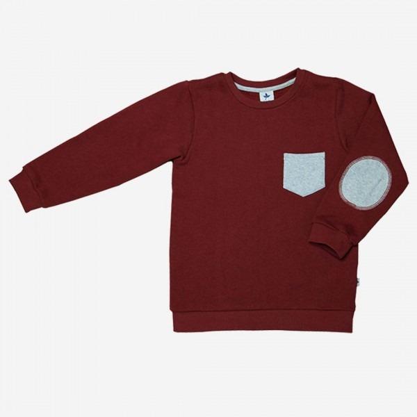 Sweatshirt ziegelrot