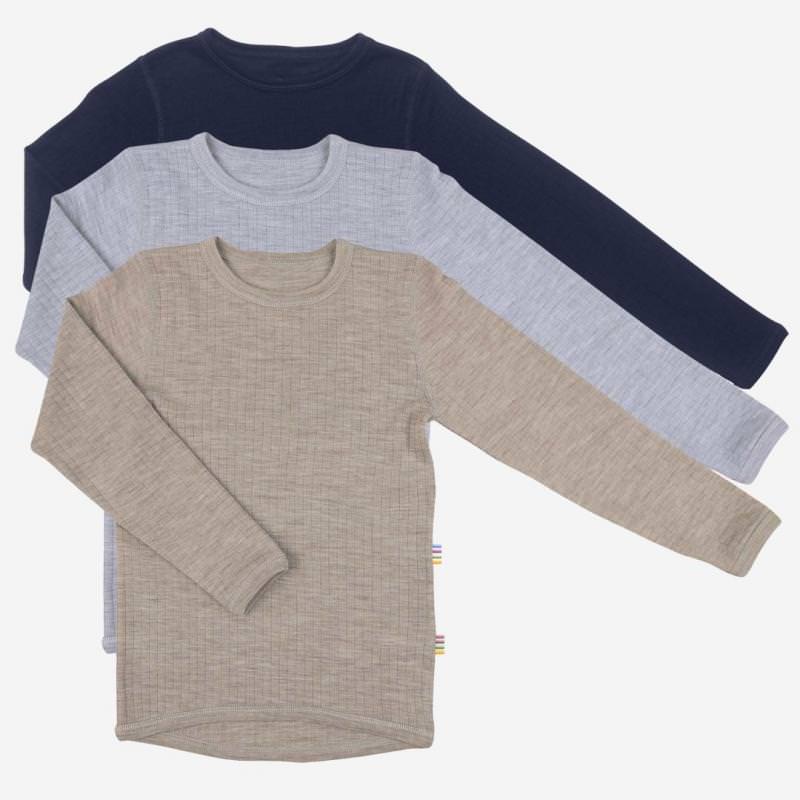 Shirt langarm Merinowolle