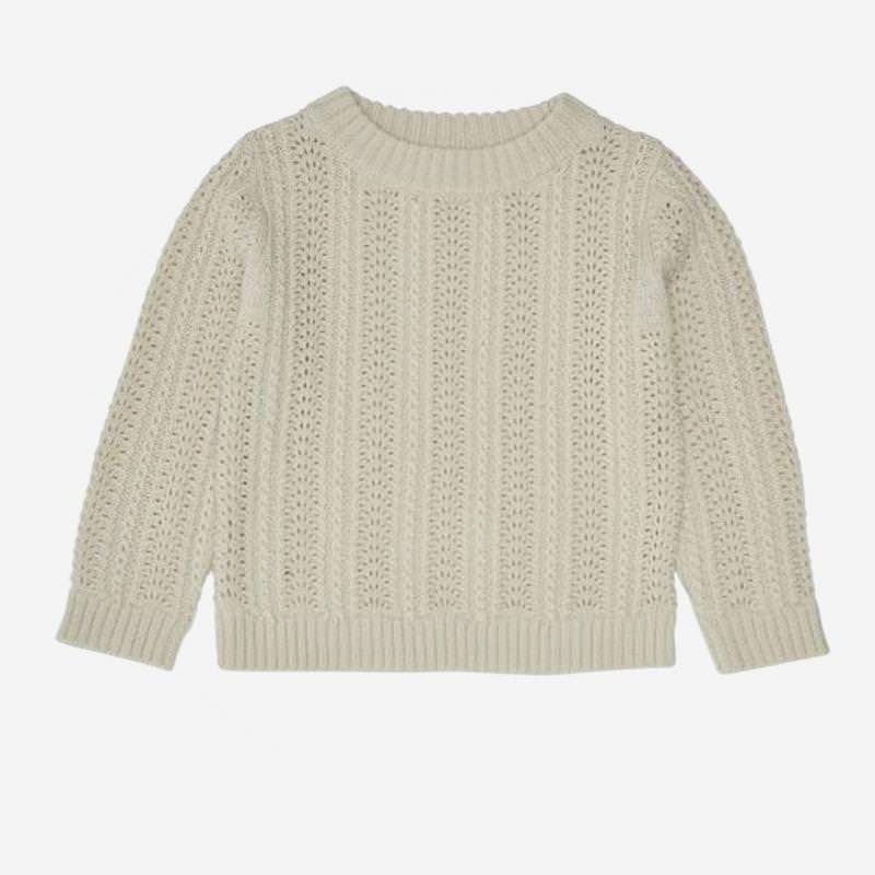 Pullover Lace Sweater ecru