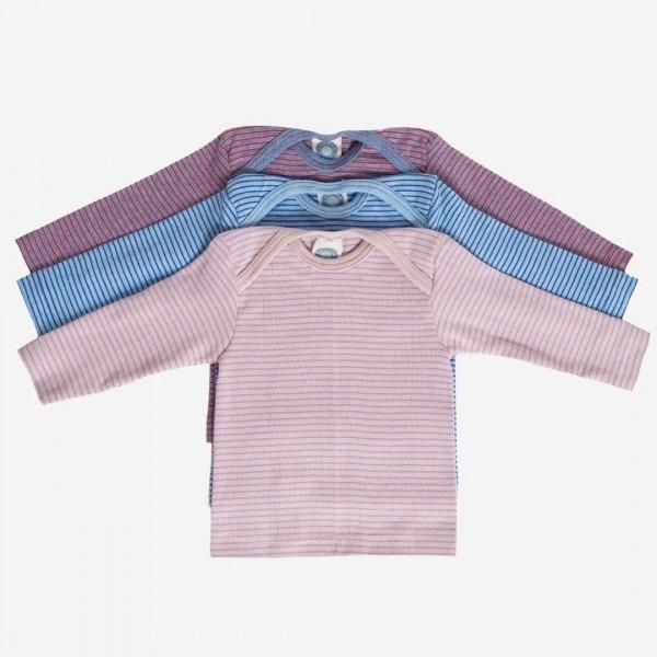 Schlupfhemd Baumwolle Ringel
