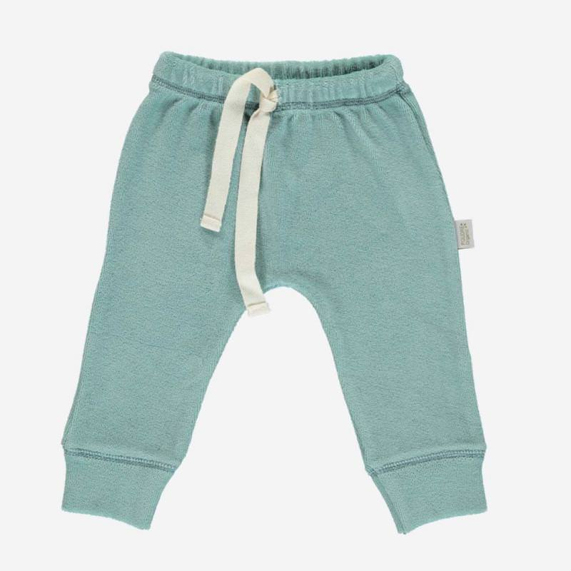 Frottee Hose CANNELLE blue surf