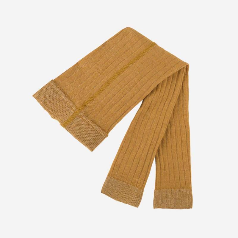 Leggings Wolle/Baumwolle bernstein