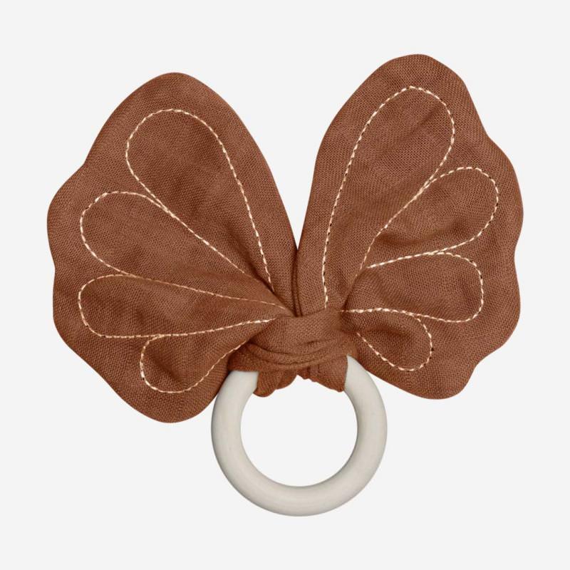Beißring Schmetterling cinnamon