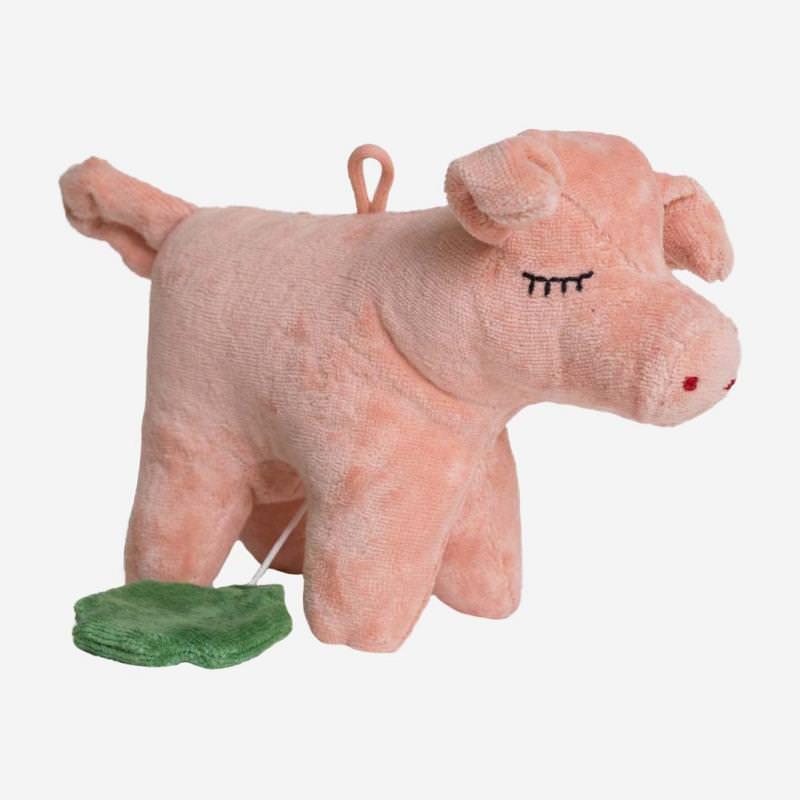 Spieluhr Schwein