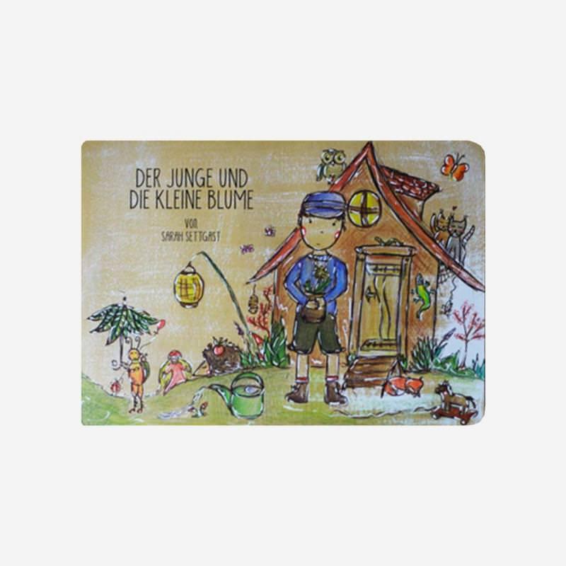 Pappbuch Der Junge und die kleine Blume